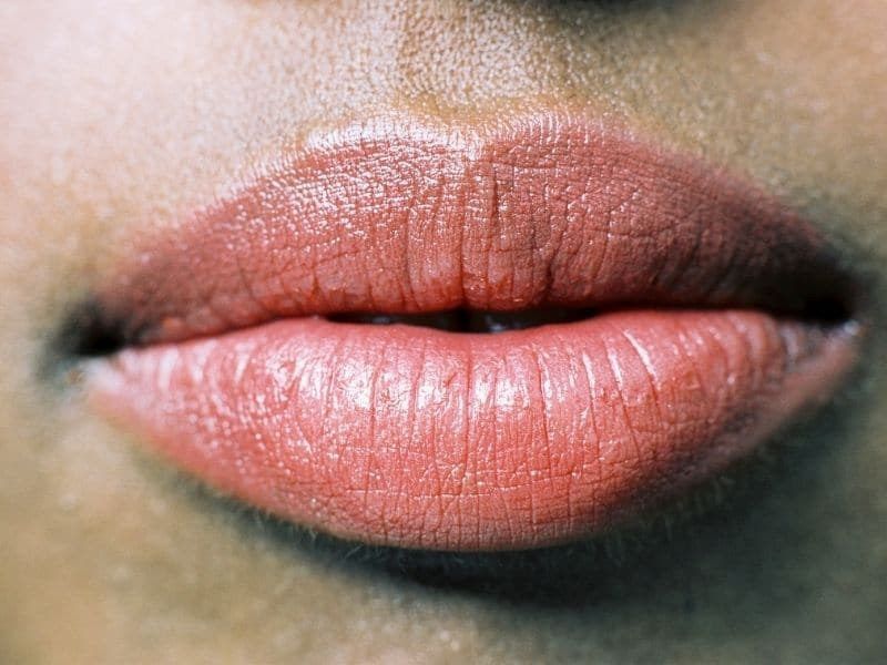Avoid overdone lips