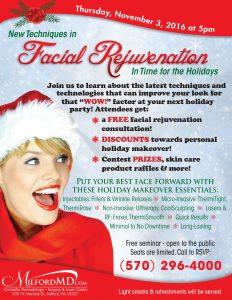 , Latest Techniques in Facial Rejuvenation Seminar
