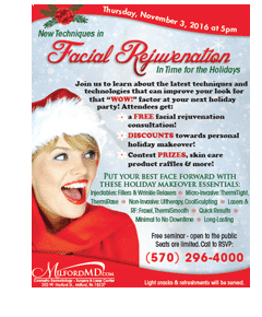 Holiday Facial Rejuvenation