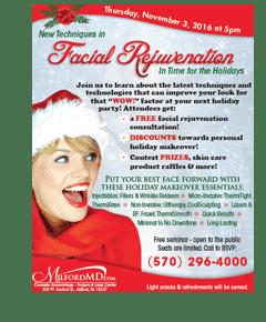 Holiday Facial Rejuvenation