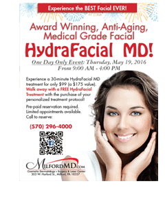 May HydraFacial Event