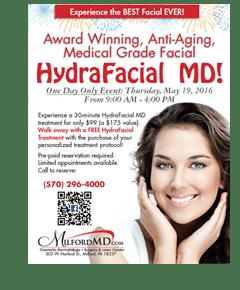 May HydraFacial Event