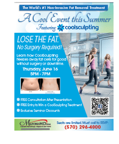 Save the Date for the June Cool Event , Featuring CoolSculpting at MilfordMD