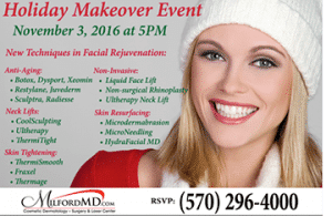, What's New in Facial Rejuvenation,  Just in Time for the Holidays!