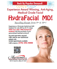 , MilfordMD Hosts 2-Day HydraFacial Special Event