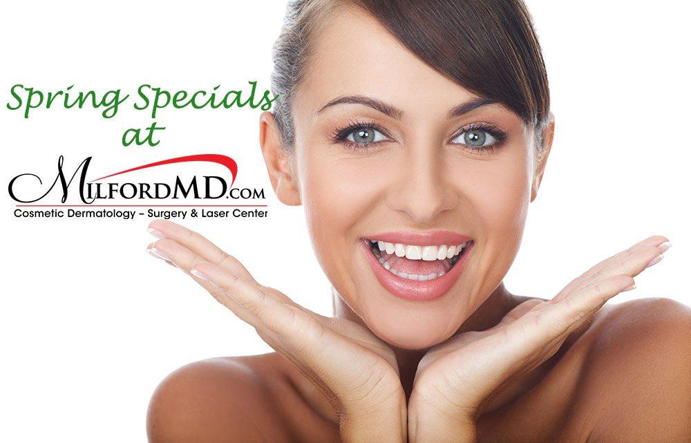 MilfordMD Spring Specials/></p> <p class=