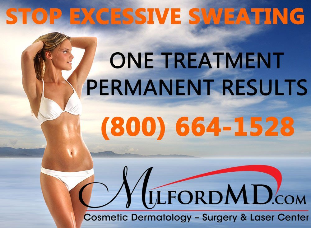 PrecisionTx at MilfordMD in NEPA can get rid of excessive sweating