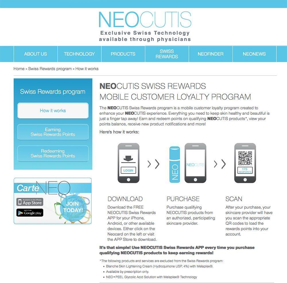 Neocutis Swiss Rewards