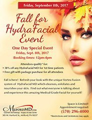 Fall Hydrafacial Event