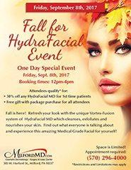 Fall Hydrafacial Event