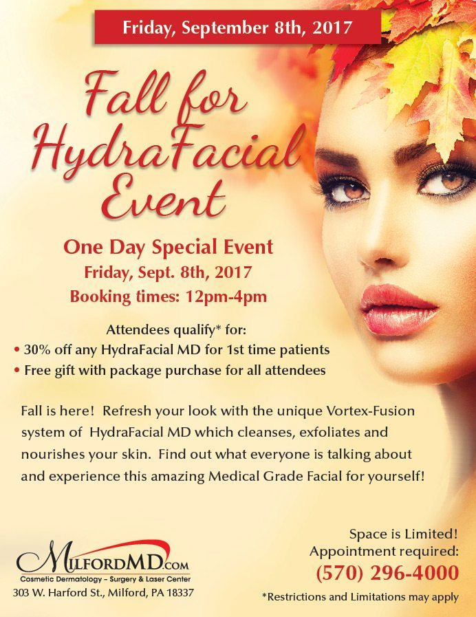 Fall for HydraFacial Event