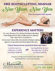 New Year, New You 2018 BodySculpting Seminar Poster