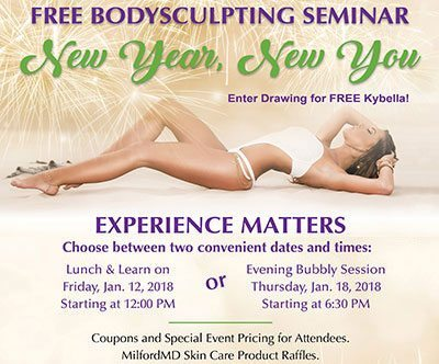 New Year New You Seminar Press Release 2018 Poster