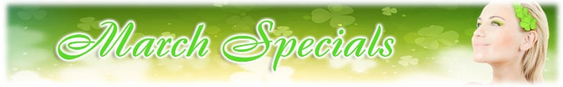 March Special Discounts on Aesthetic Treatments and Cosmetic Surgery