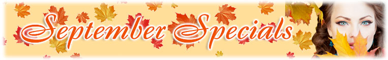 September Specials on Cosmetic Surgery & Aesthetic Treatments