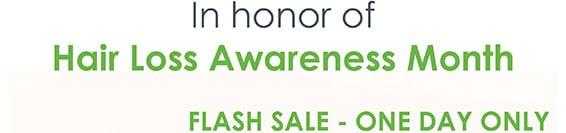 Viviscal Flash Sale for Hair Loss Awareness Month