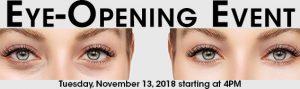 MilfordMD Eye Opening Event RSVP Banner 2018