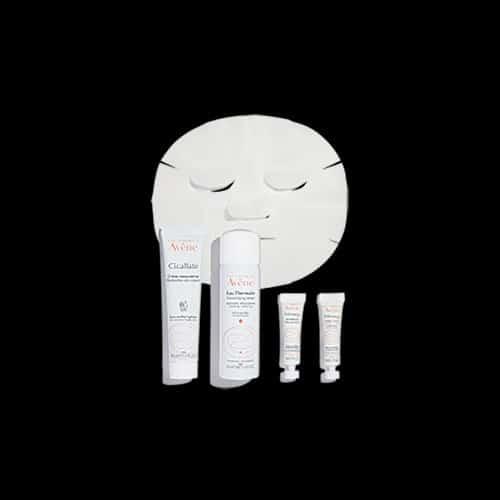 Avene SOS Post-Procedure Kit with Mask