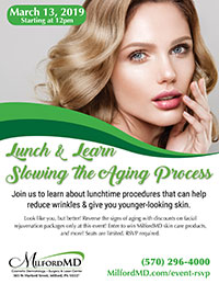 Slowing Aging Process Lunch & Learn Poster