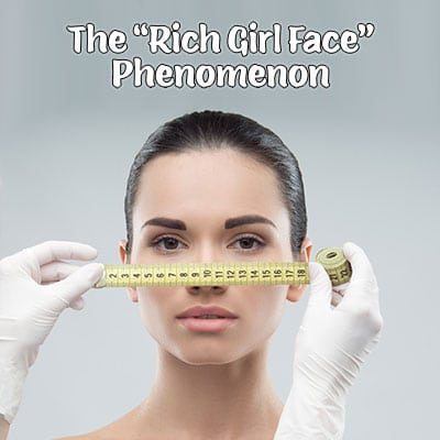 "Dr. Richard E. Buckley discusses cosmetic treatments to achieve ""rich girl face"""