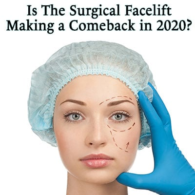 Dr. Richard E. Buckley's comments to Aesthetic Society's 2020 facelift prediction