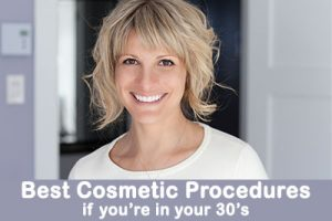 Top cosmetic treatments to prevent the signs of aging in your 30s.