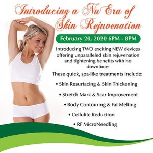 MilfordMD's Introducing a NuEra of Skin Rejuvenation Event on February 20, 2020